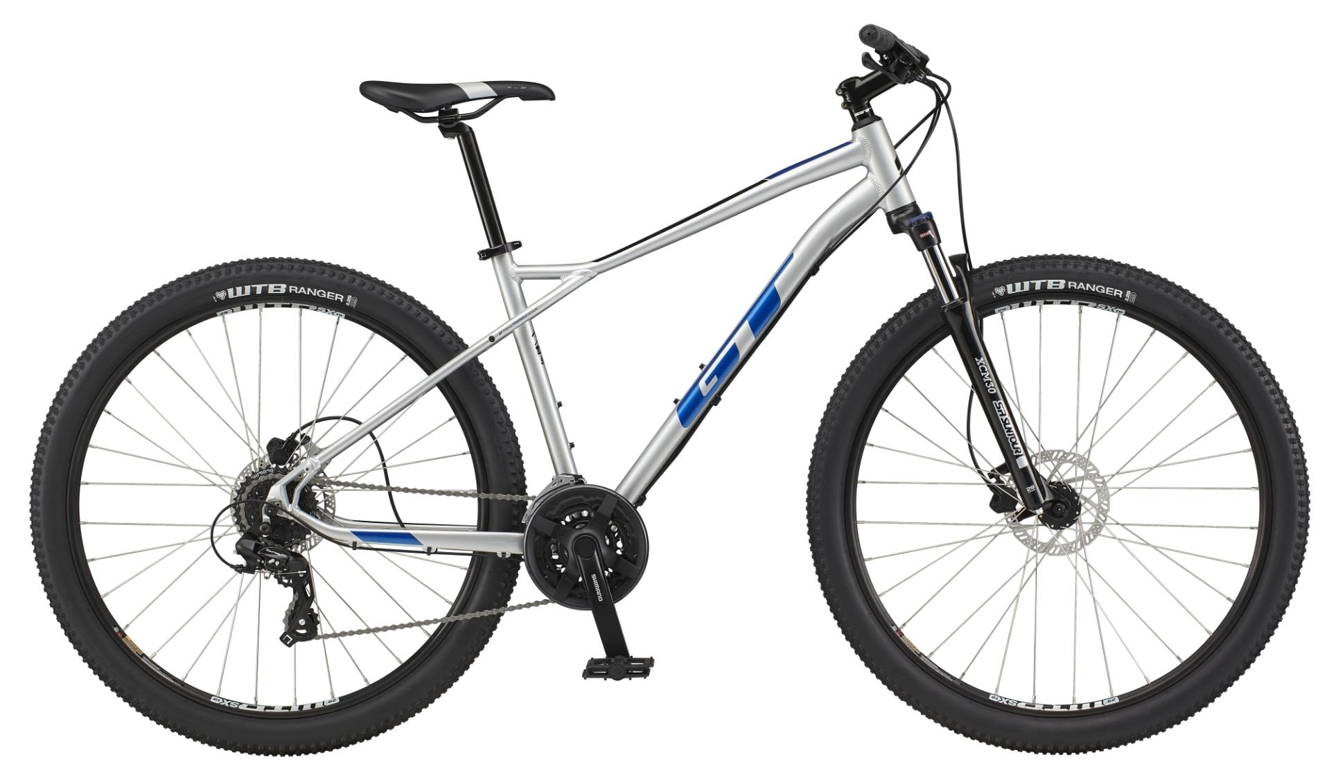 "GT Aggressor Expert férfi 29"" MTB kerékpár - ezüst - M (2021)"