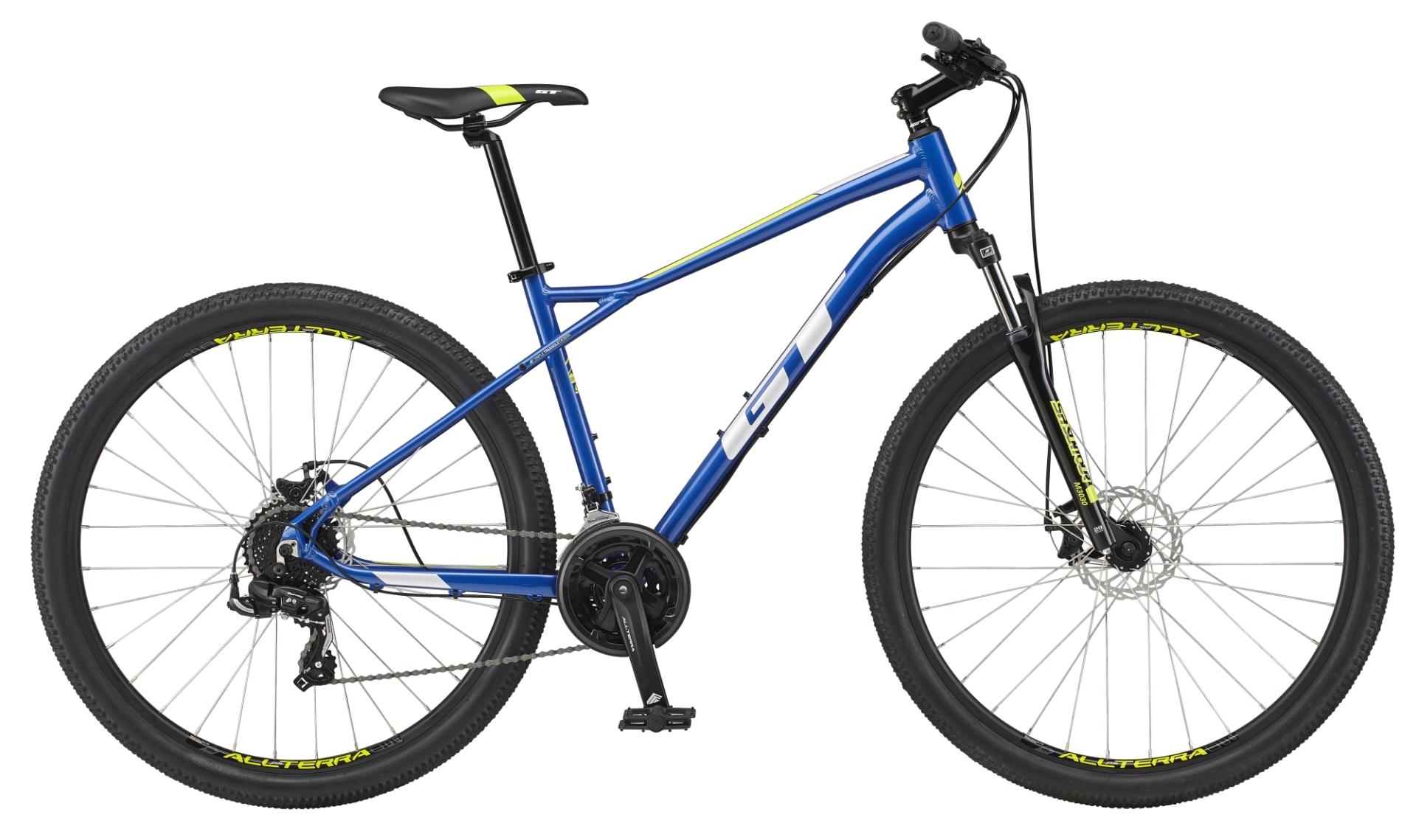 "GT Aggressor Sport férfi 29"" MTB kerékpár - kék - S (2021)"