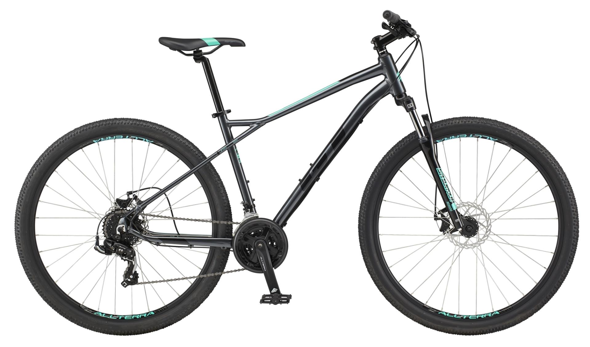 "GT Aggressor Sport férfi 27.5"" MTB kerékpár - szürke - S (2021)"