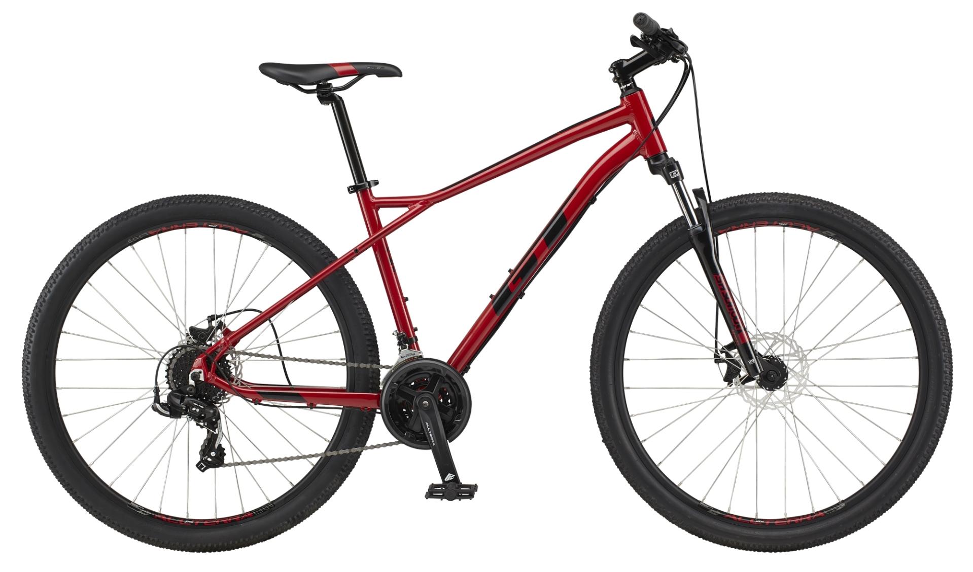 "GT Aggressor Sport férfi 29"" MTB kerékpár - piros - S (2021)"