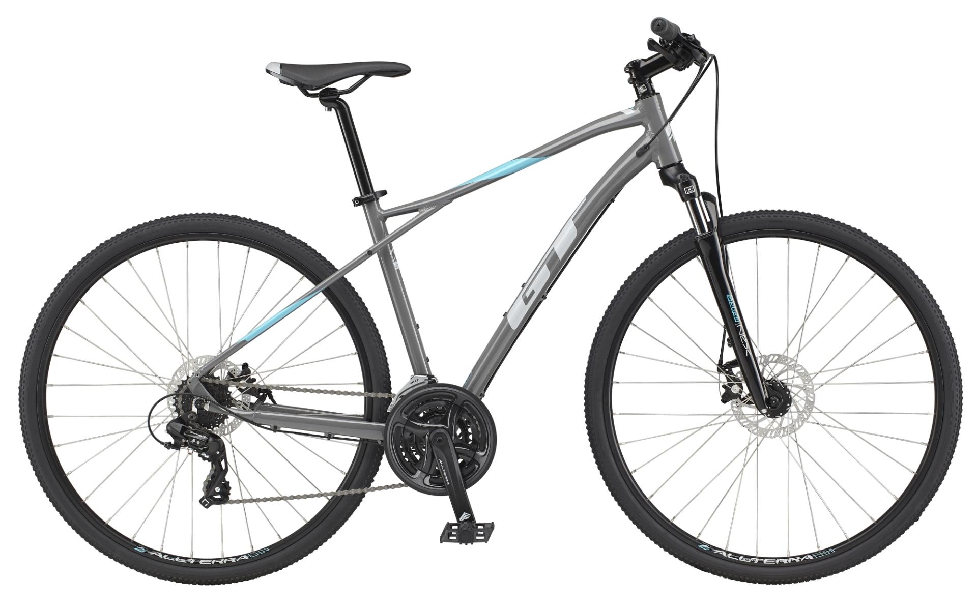 GT Transeo Comp férfi cross kerékpár - szürke - L (2021)