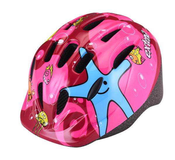 Extend LILLY gyermek sisak - pink/bordó (51-54 cm)