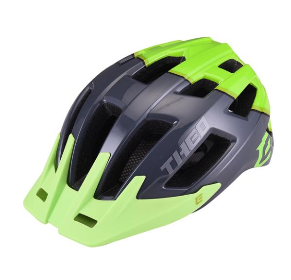 Extend THEO sisak - fényes szürke/zöld (55-58 cm)