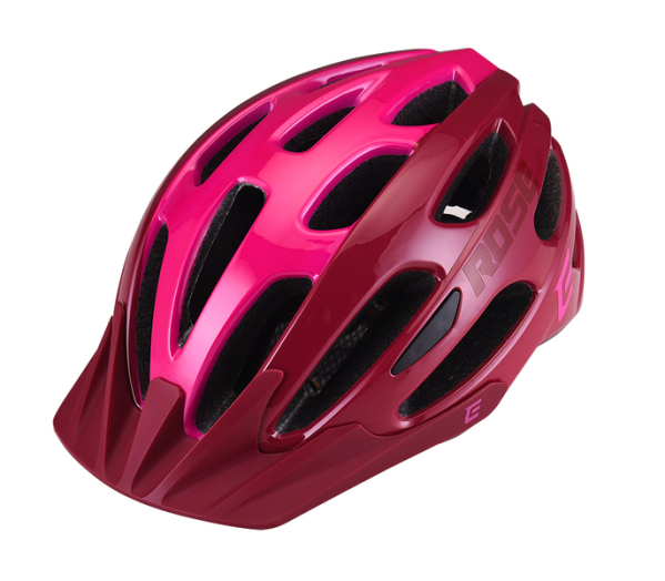 Extend ROSE sisak - bordó/pink (58-62 cm)