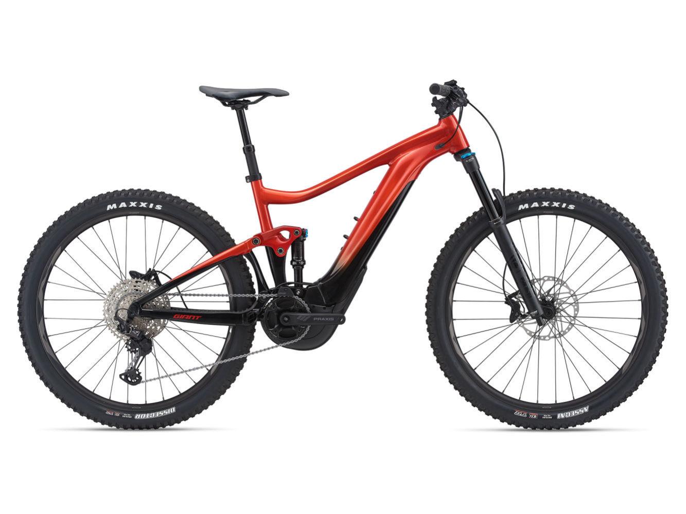 """GIANT Trance X E+ 2 Pro férfi 29"""" trail pedelec kerékpár - láva - M (2021)"""
