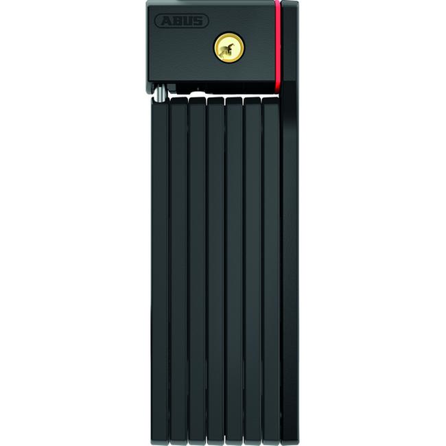 ABUS Bordo BIG uGrip 5700/100 SH hajtogatós lakat - fekete