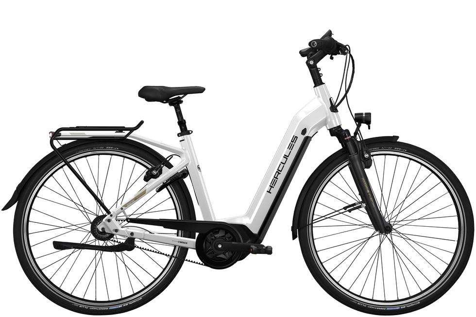 Hercules Robert/a Deluxe I-F8 női városi pedelec kerékpár - fehér - 57 cm (2020)