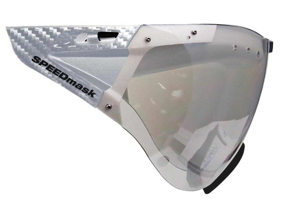 Casco SPEEDmask Carbonic lencse - ezüst