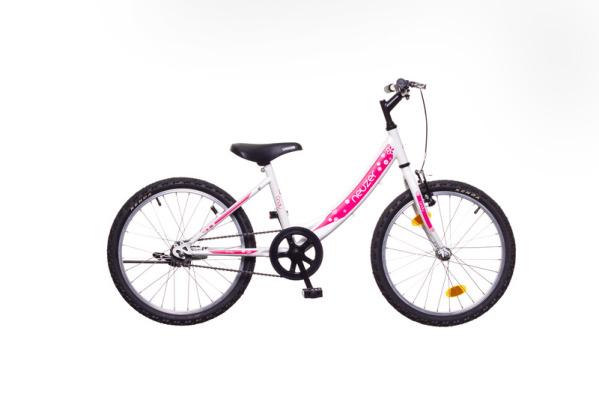 Neuzer CINDY 20 1S gyermek kerékpár - fehér/pink (2020)