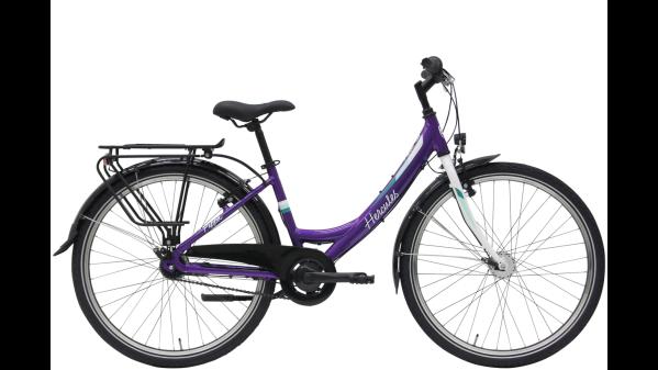 """HERCULES Pippa R7 ZR lány 26"""" kerékpár - fényes lila (2021)"""