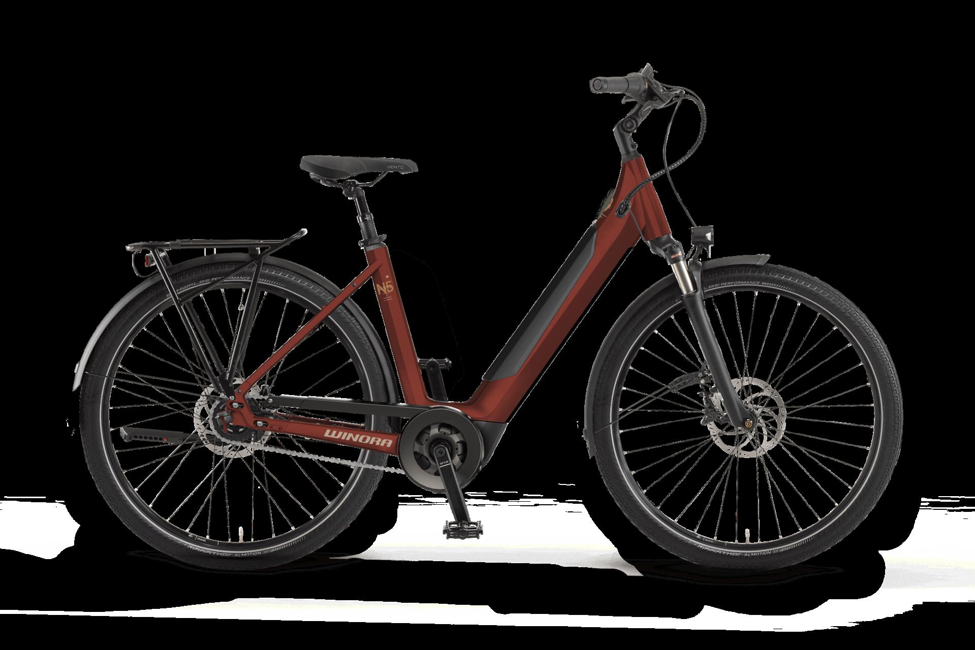 WINORA Sinus N5f Wave női trekking pedelec kerékpár - 54 cm (2021)