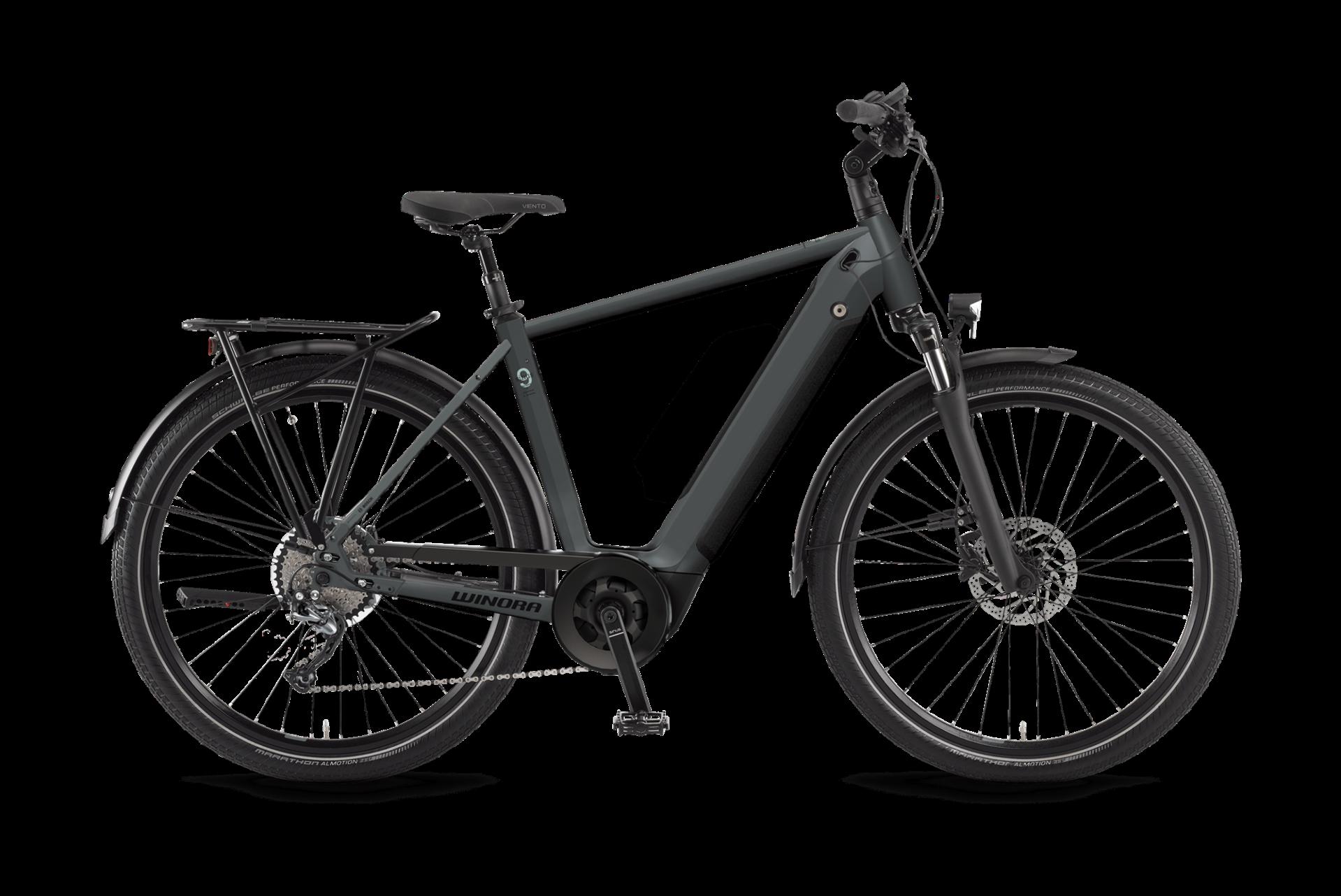 WINORA Sinus 9 férfi trekking pedelec kerékpár - 56 cm (2021)