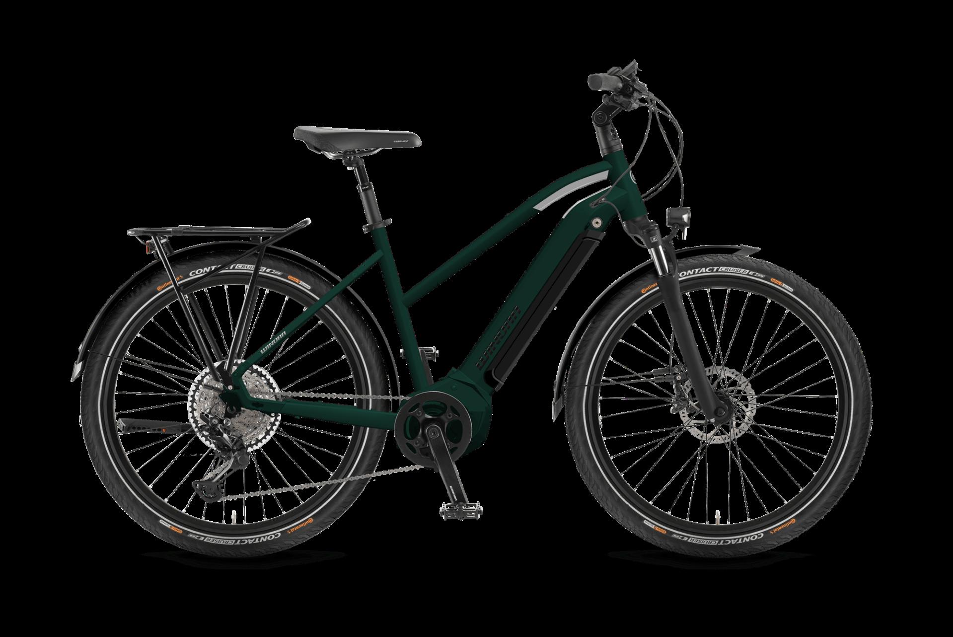WINORA Yucatan 10 női trekking pedelec kerékpár - 44 cm (2021)
