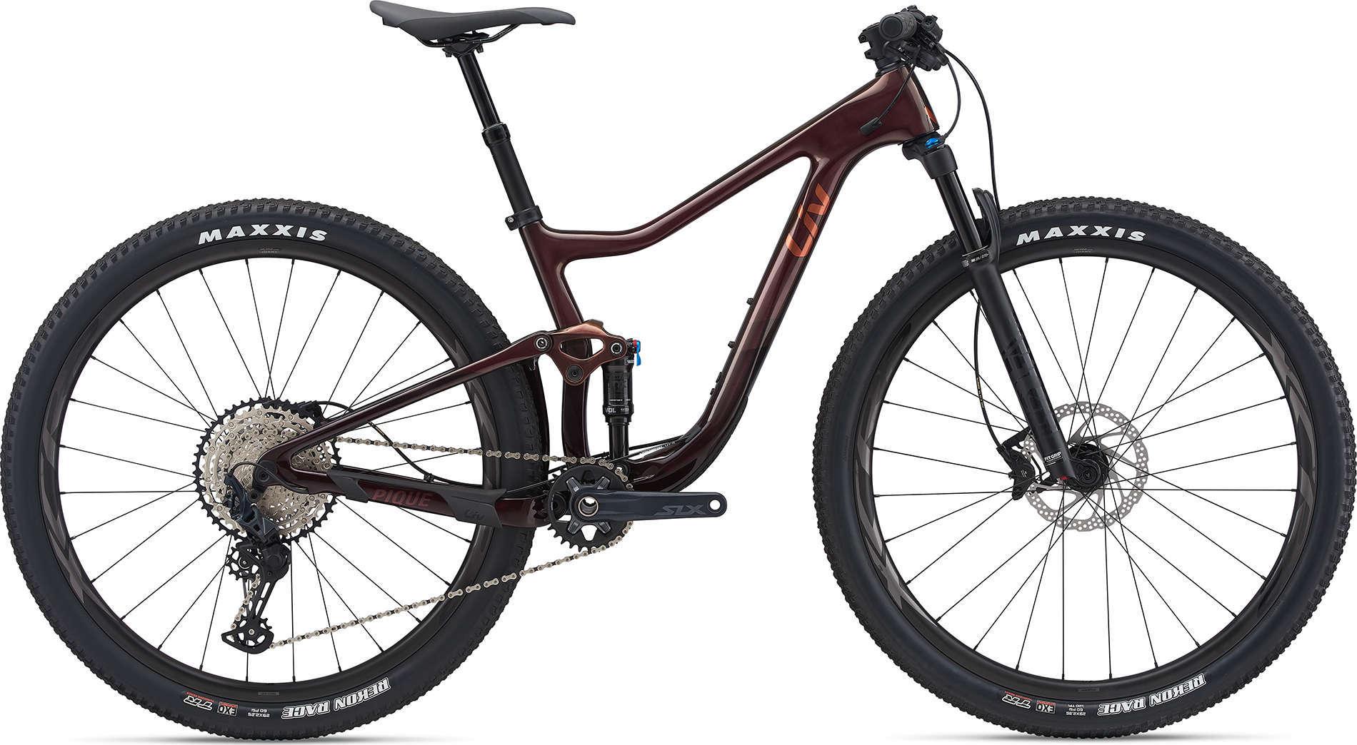 """LIV Pique Advanced Pro 2 női 29"""" XC kerékpár - M (2021)"""
