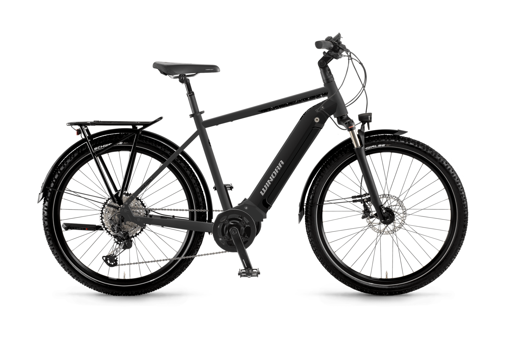 WINORA Yucatan 12 Pro férfi trekking pedelec kerékpár - 60 cm (2021)