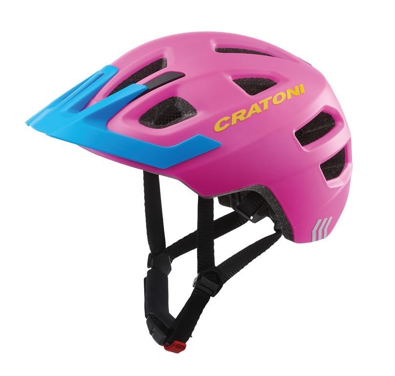 Cratoni Maxster Pro gyermek sisak - matt pink/kék - XS/S (46-51 cm)