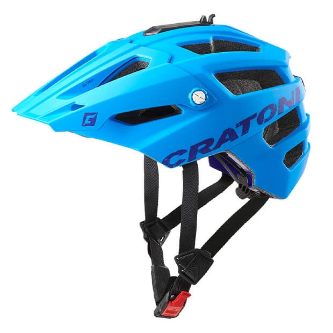 Cratoni AllTrack MTB sisak - kék - M/L (58-61 cm)