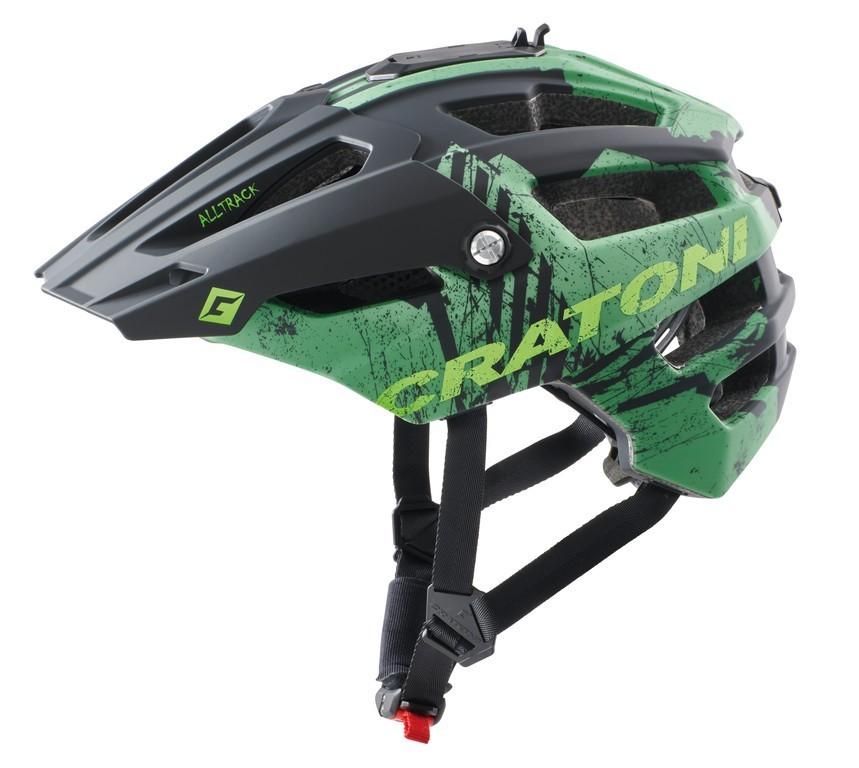 Cratoni AllTrack MTB sisak - zöld - S/M (54-58 cm)