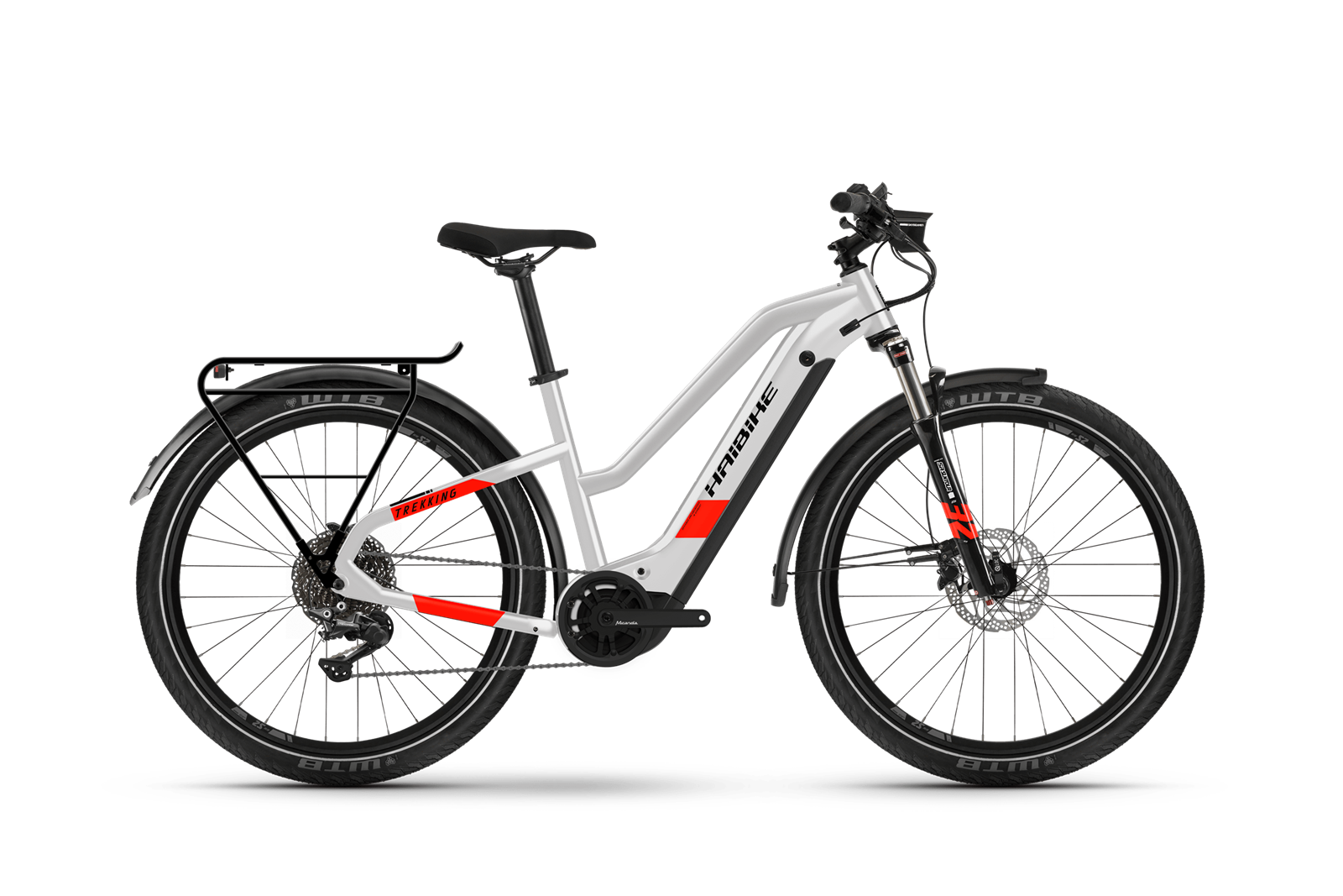 HAIBIKE Trekking 7 Lowstandover trekking pedelec kerékpár - szürke - XL (2021)