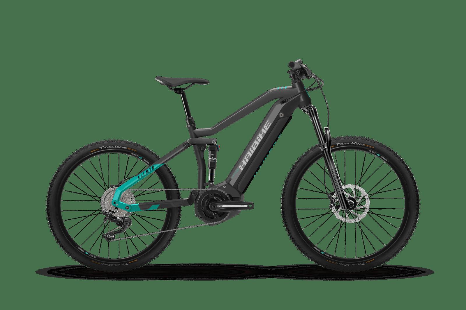 HAIBIKE AllMtn 1 MTB pedelec kerékpár - antracit - S (2021)