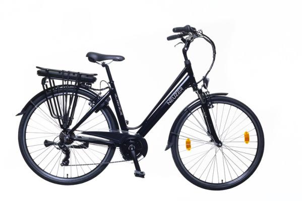 Neuzer Hollandia Delux női pedelec trekking kerékpár - fekete - 18