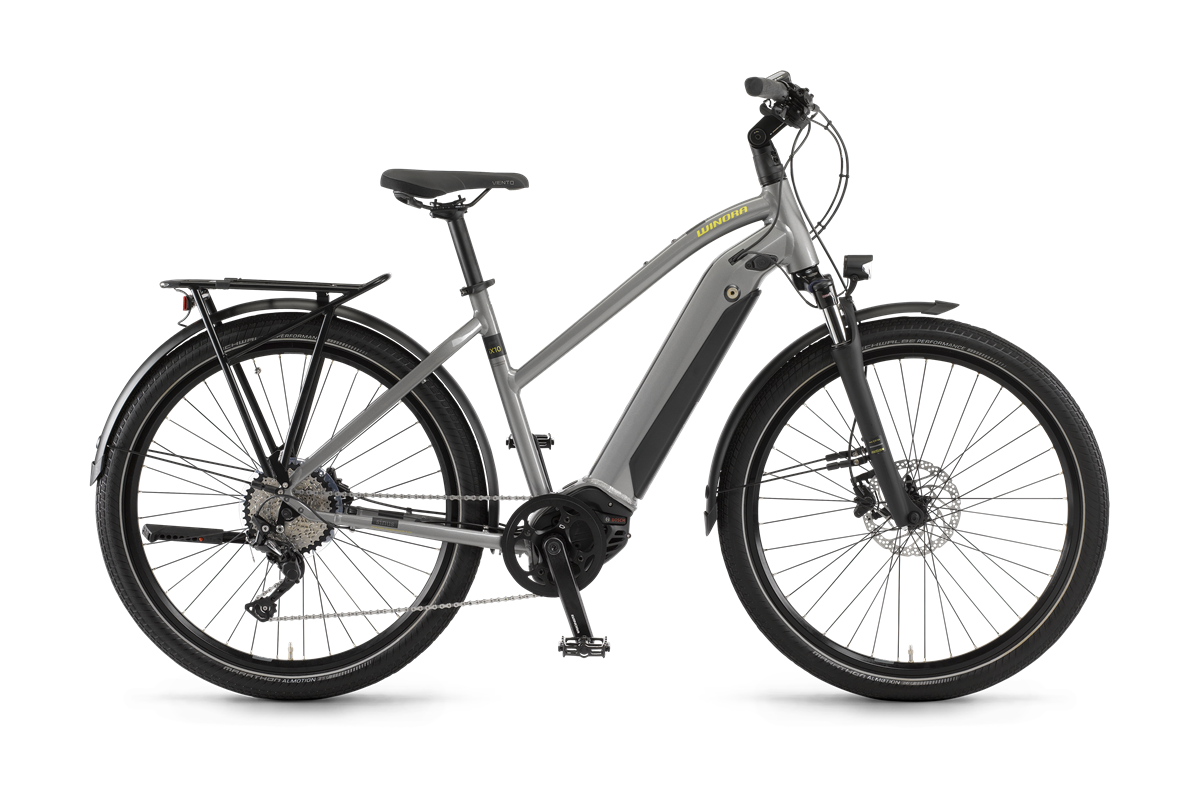 WINORA Sinus iX10 női trekking pedelec kerékpár - 44 cm (2021)