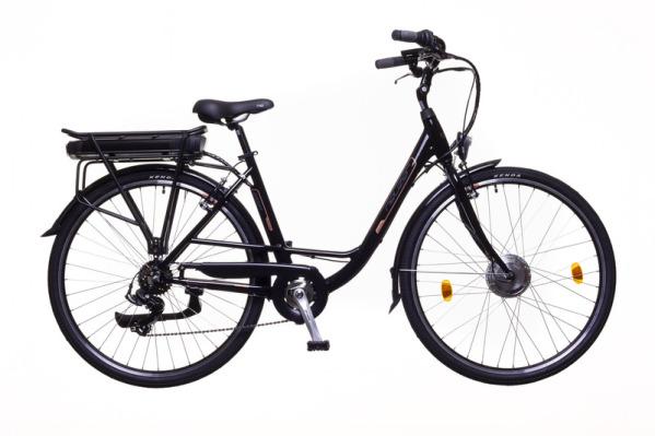 Neuzer E-Trekking Zagon Shengyi női pedelec kerékpár - fekete - 17