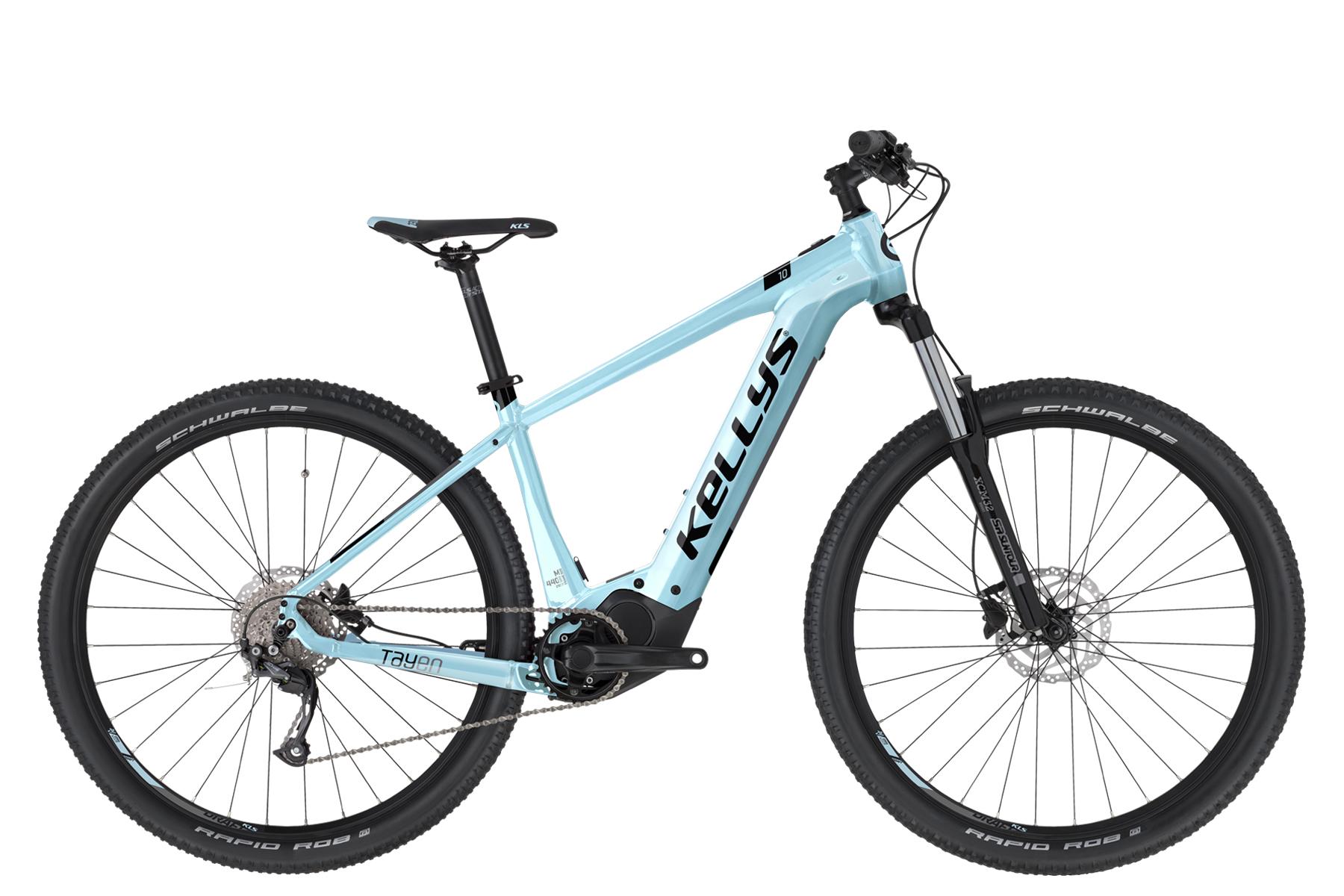 """KELLYS Tayen 10 női 27.5"""" MTB pedelec kerékpár - égkék - S (2021)"""