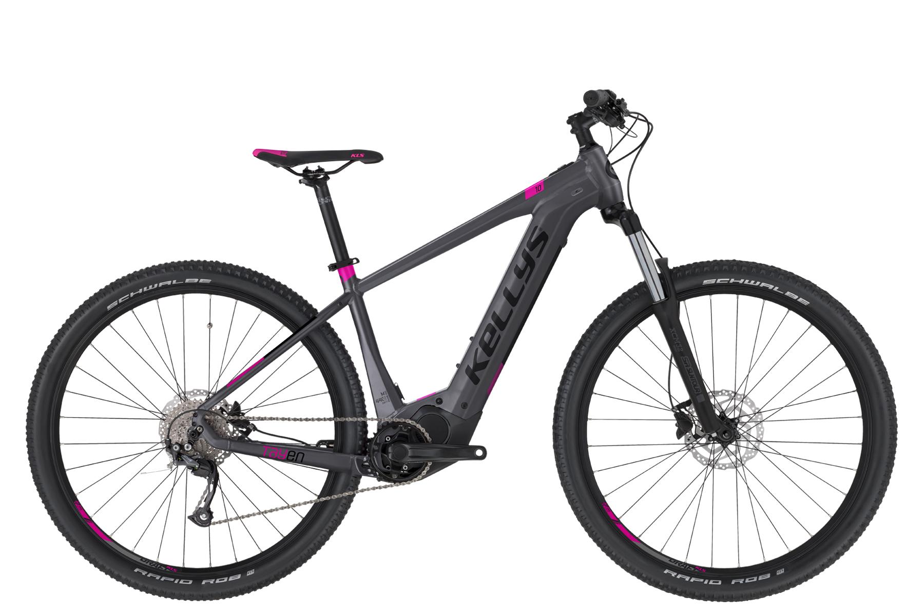 """KELLYS Tayen 10 női 27.5"""" MTB pedelec kerékpár - szürke - S (2021)"""