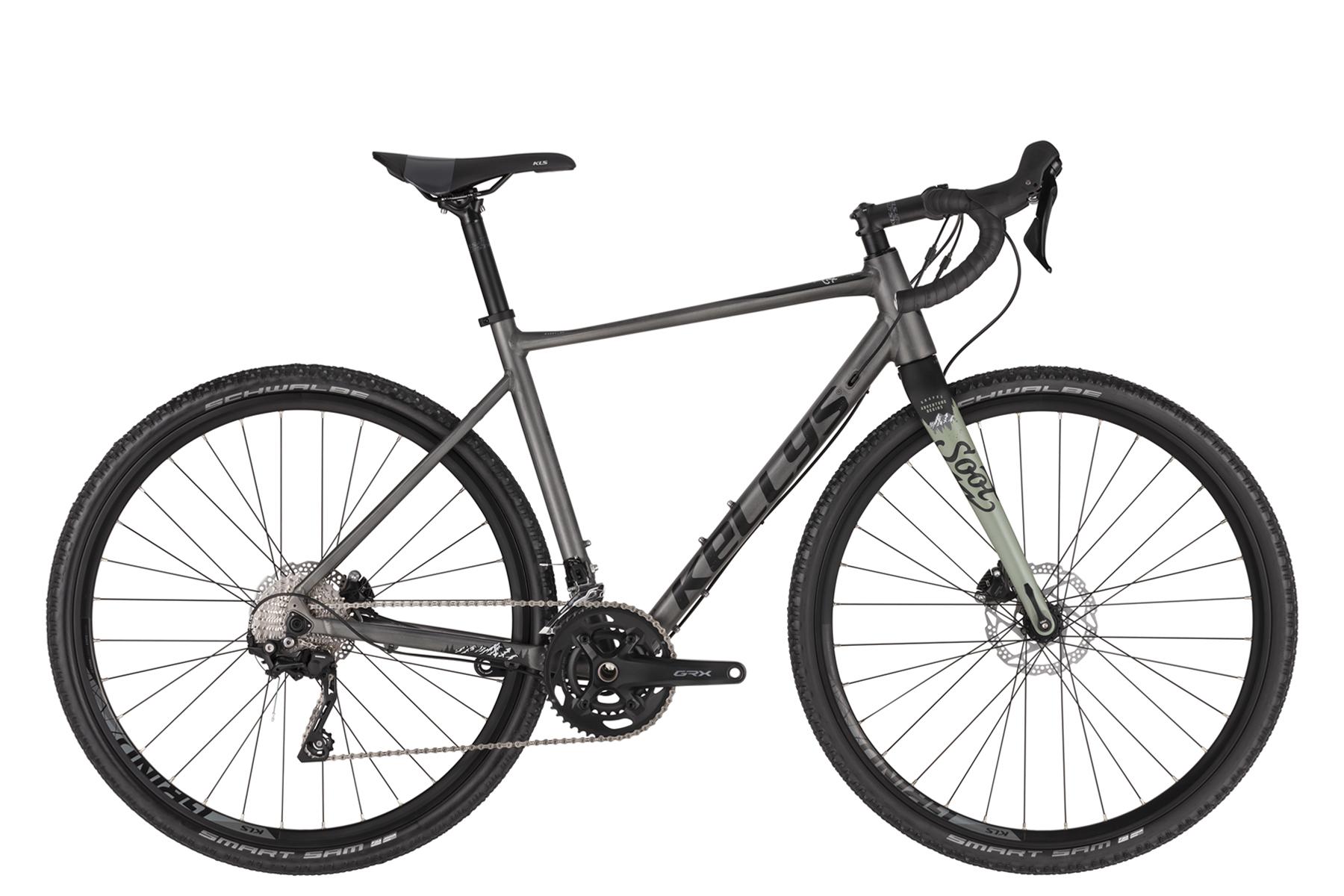KELLYS SOOT 50 gravel kerékpár - szürke - L (2021)