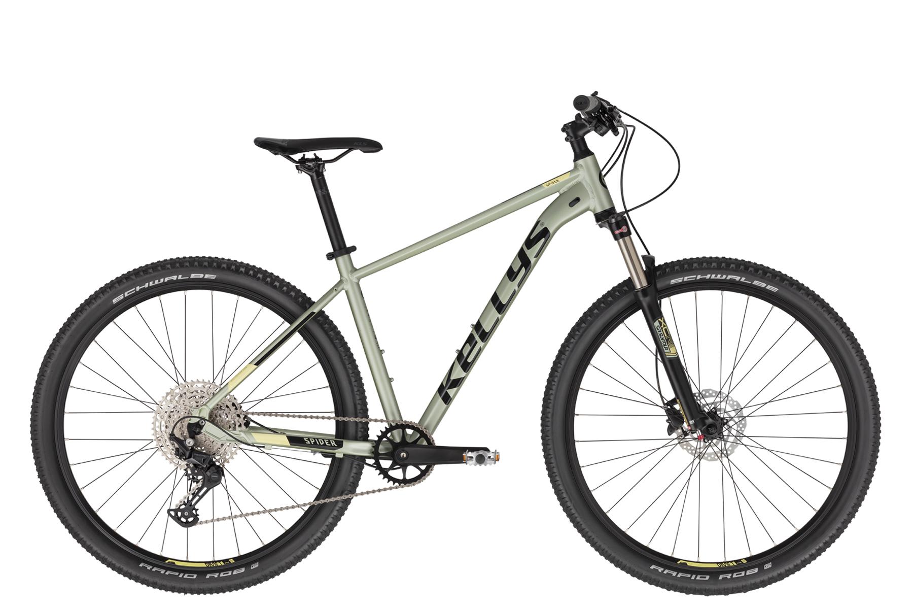 """KELLYS Spider 90 férfi 29"""" MTB kerékpár - világoszöld - M (2021)"""