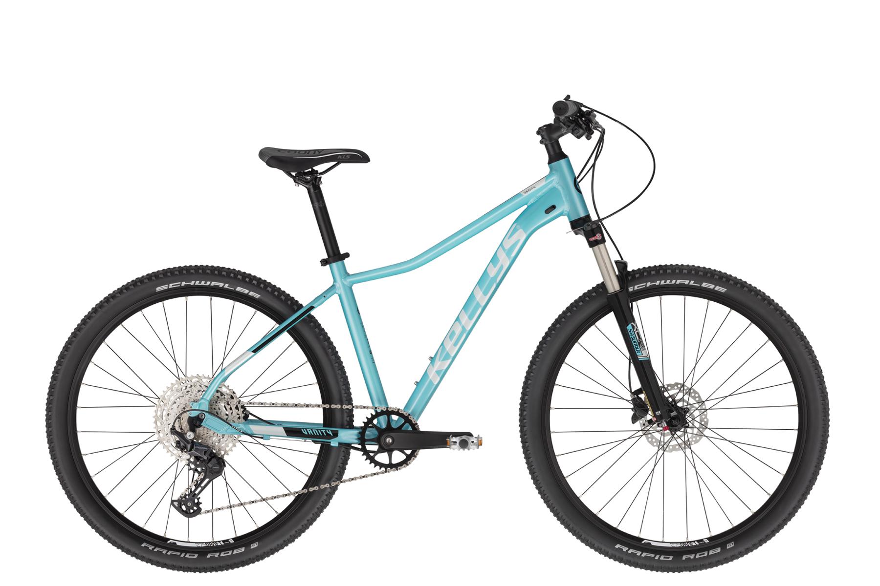 """KELLYS Vanity 90 női 27.5"""" MTB kerékpár - világoskék - M (2021)"""