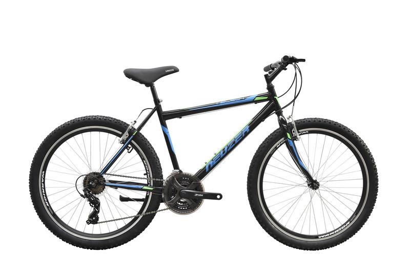 """Neuzer Nelson 50 férfi 26"""" MTB kerékpár - fekete/türkiz- neon zöld - 23"""