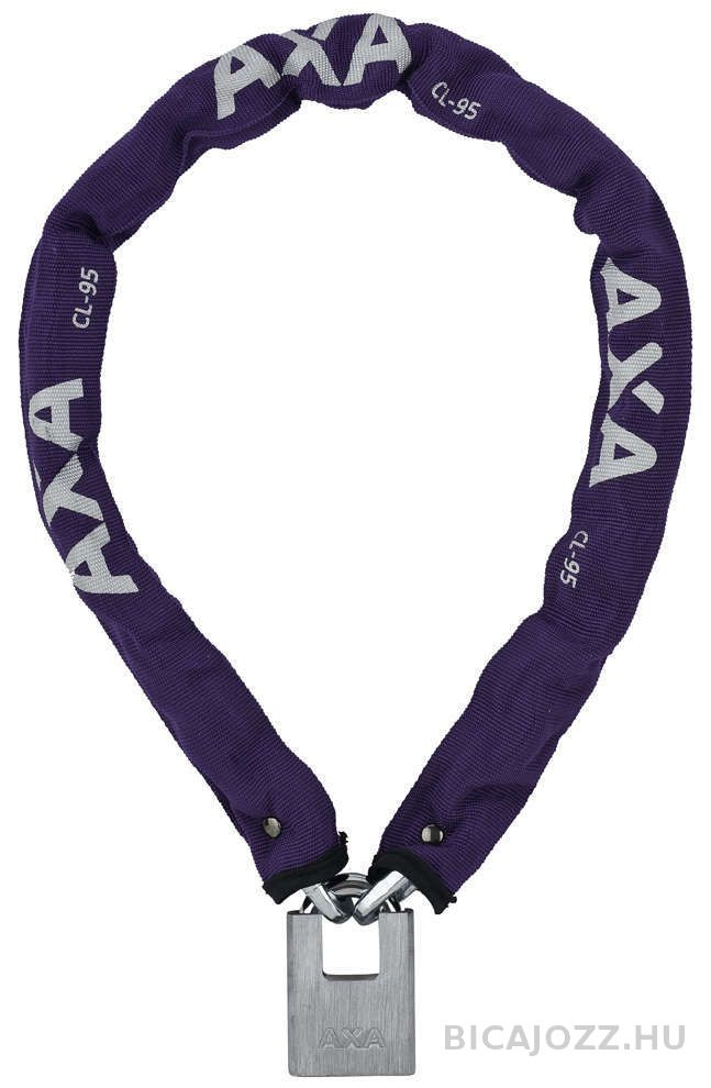 Axa Clinch 95/7,5 láncos lakat - lila