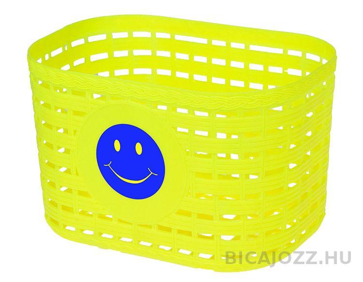 Smiley első kosár - sárga