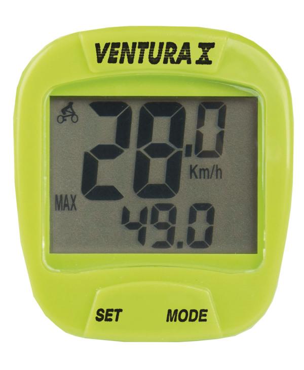Ventura 10 vezetékes computer - zöld