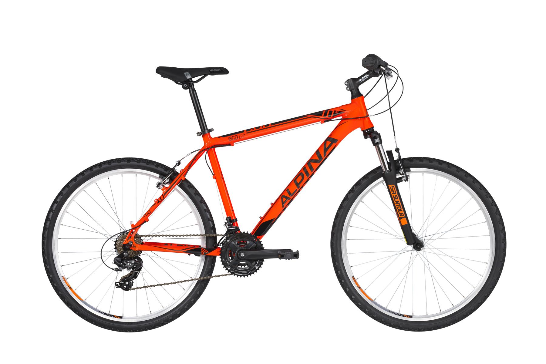 """Alpina Eco M10 férfi 26"""" MTB kerékpár - neonnarancs - S (2021)"""