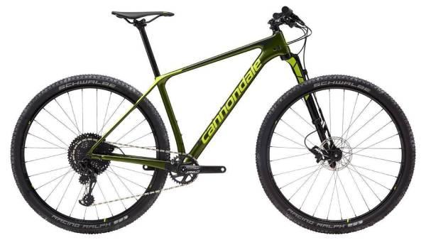 """Cannondale F-Si 3 CARBON férfi 29"""" MTB kerékpár - zöld - L (2019)"""