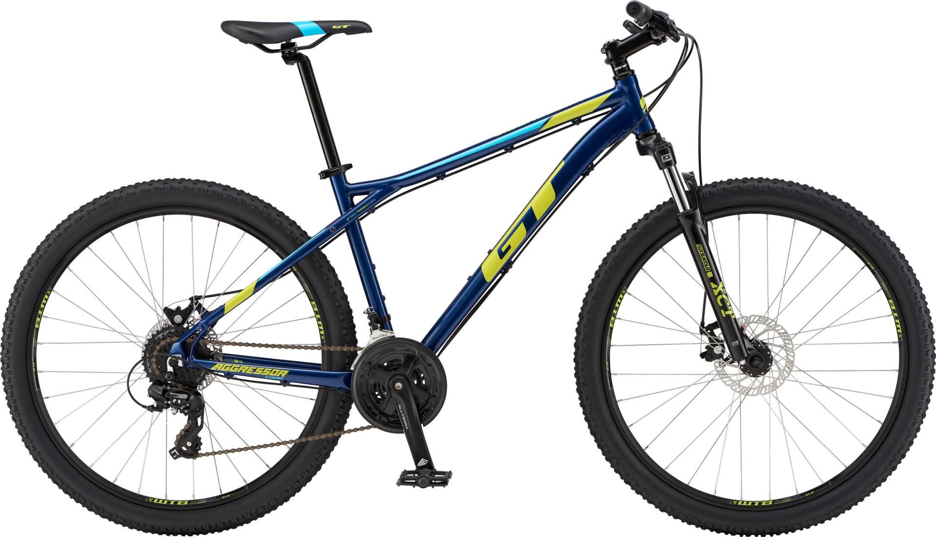 "GT Aggressor Comp férfi 27.5"" MTB kerékpár - navykék - S (2019)"