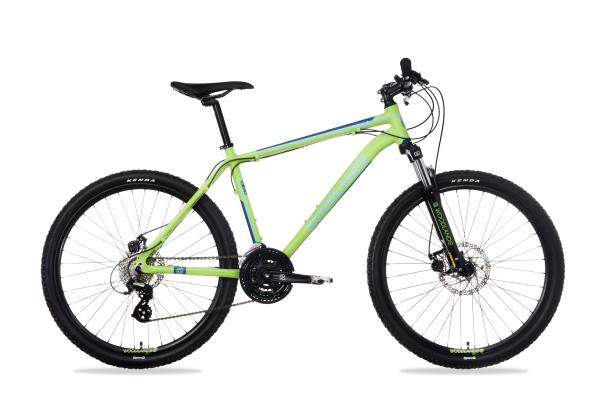 """Csepel Woodlands Pro 1.1 férfi 26"""" MTB kerékpár - zöld - S"""