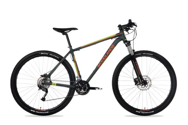 """Csepel Woodlands Pro 1.1 férfi 29"""" MTB kerékpár - sötétzöld - L"""