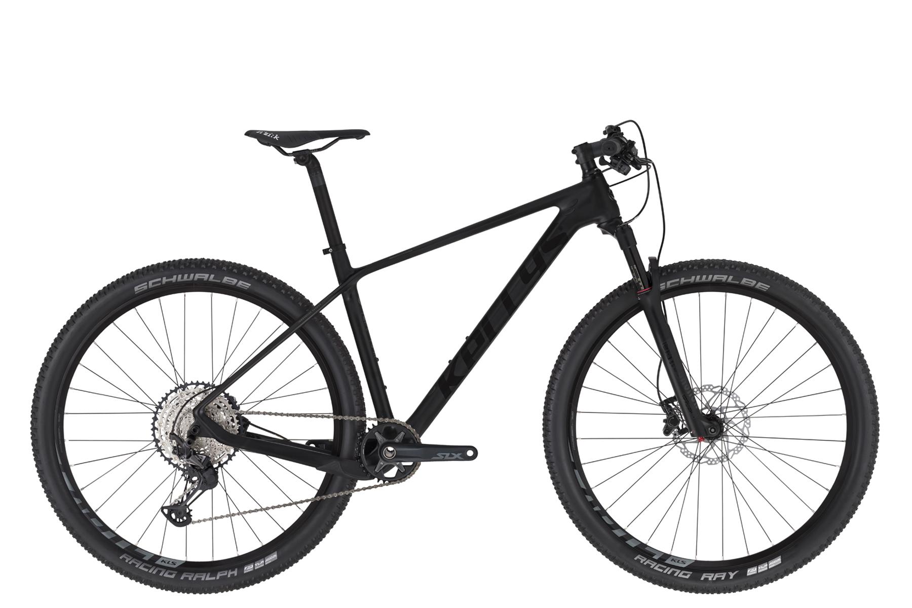 """KELLYS Hacker 50 férfi 29"""" MTB kerékpár - fekete - L (2020)"""