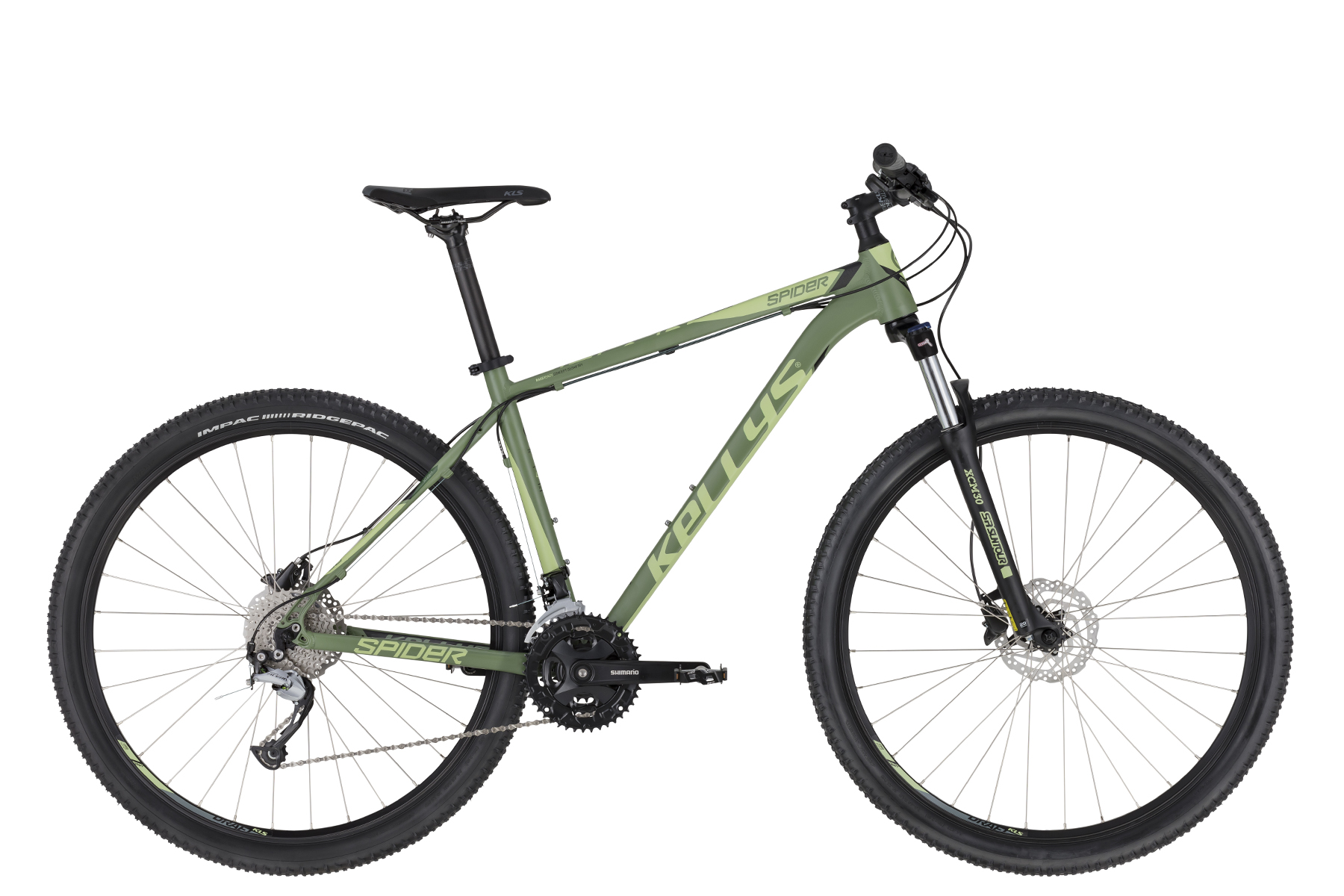 "KELLYS Spider 50 férfi 29"" MTB kerékpár - zöld - M (2020)"