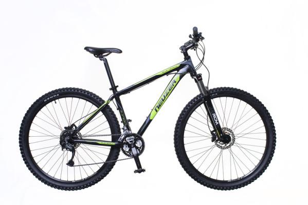 """Neuzer Jumbo Comp Hydr férfi 29"""" MTB kerékpár - fekete/zöld - 19"""