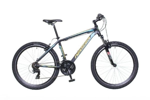 """Neuzer Mistral 50 férfi 26"""" MTB kerékpár - fekete/narancs - 19"""