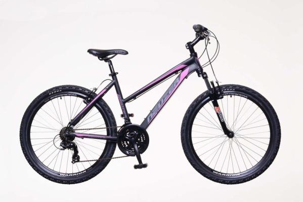 """Neuzer Mistral 50 női 26"""" MTB kerékpár - fekete/pink - 17 (2019)"""