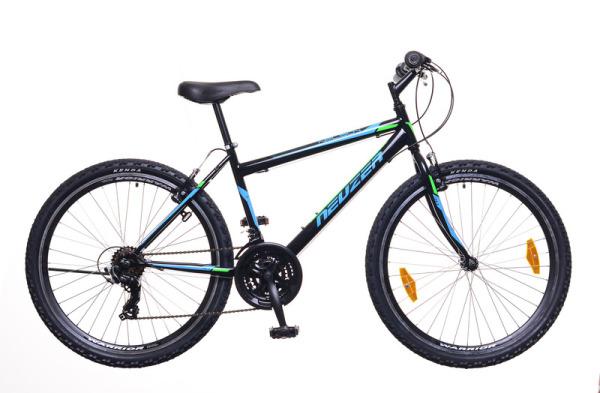 """Neuzer Nelson 30 férfi 26"""" MTB kerékpár - fekete/türkiz - 17"""