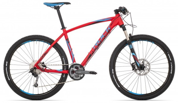 "Rock Machine Torrent 50 férfi 29"" MTB kerékpár - matt piros - 16.5 (2017)"