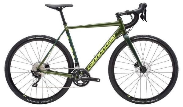 Cannondale CAAD X 105 cyclocross kerékpár - zöld - 56 (2019)