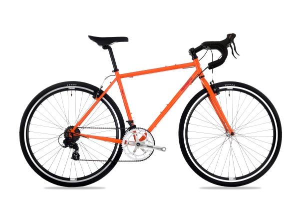 Csepel Rapid 3* férfi országúti kerékpár - matt narancs - 59 cm